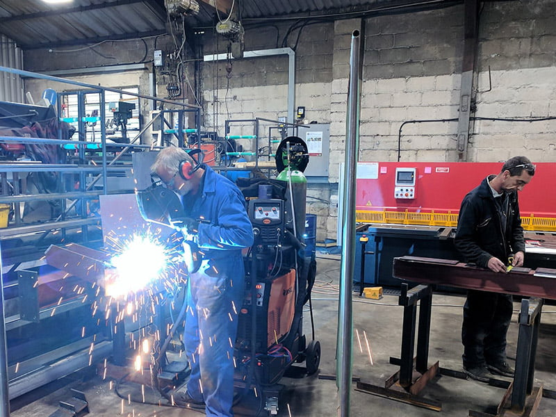 Busy welding day at Pulse!